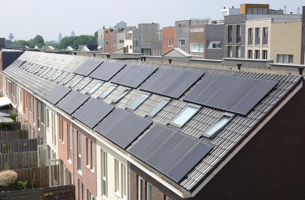 Zonnepanelen William Barlowlaan 12-20
